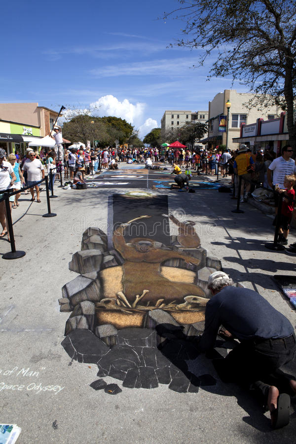 Street Art Festival In Lake Worth Florida Editorial Photo