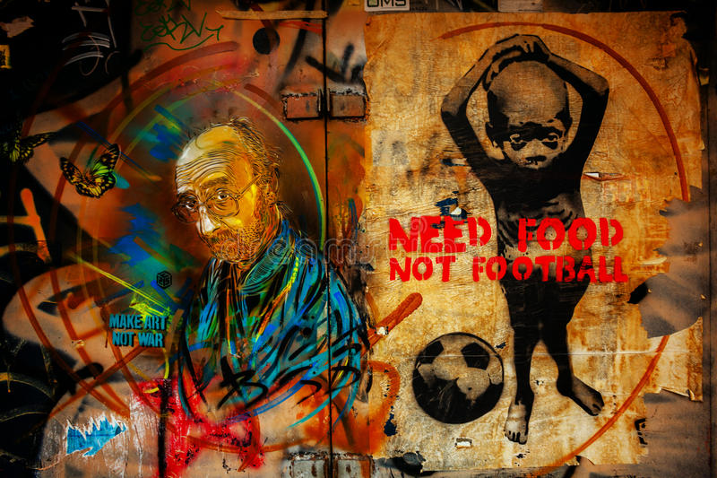 Download Murale in rome editorial image. Image of artist, ghetto - 30127735