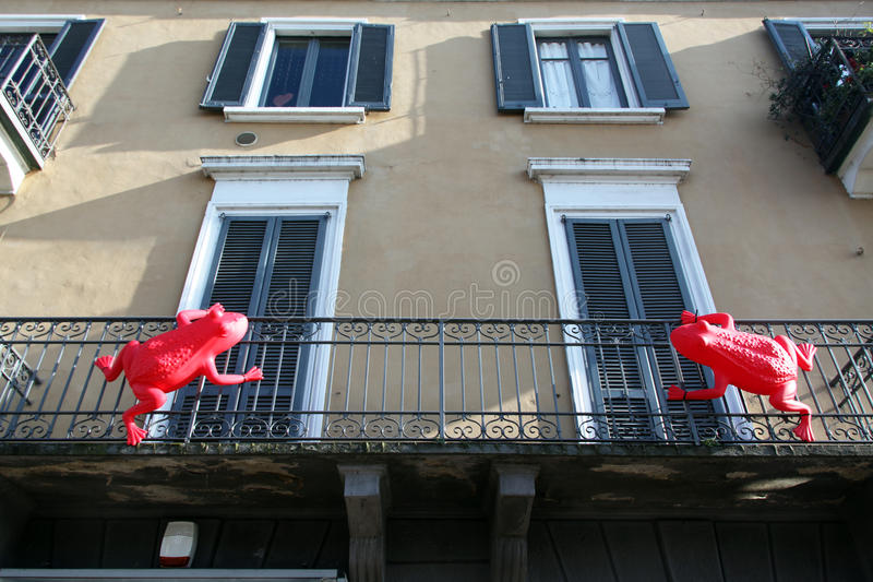 Download Street art on Navigli editorial image. Image of bycilcle - 30443235