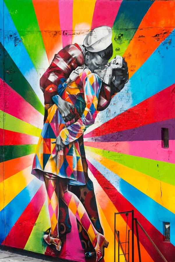 Street Art, New York City royalty free stock image