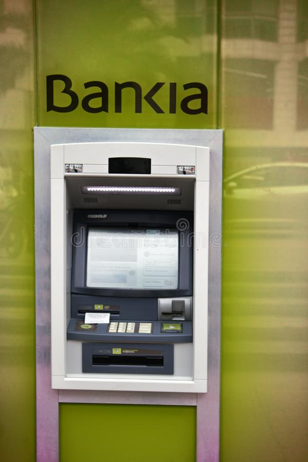 Free Street ATM In Spain, Cash Dispenser Stock Photography - 108181652