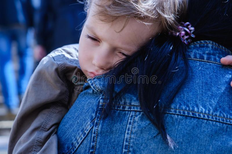 Street baby child woman mother,  asian stock images