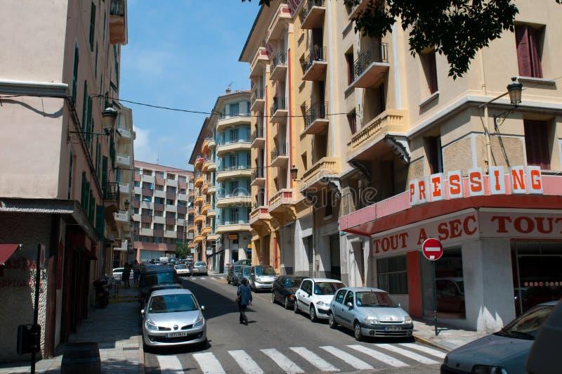 Download Street Of Bastia. Editorial Photo - Image: 17833921
