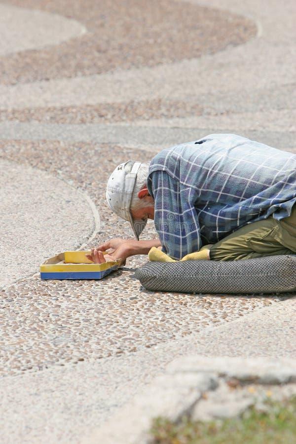 Street Beggar Stock Photos