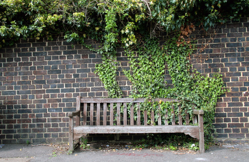 Street bench stock images