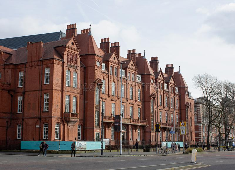 Street, Buildings, Architecture in United Kingdom. Travel in UK. royalty free stock image