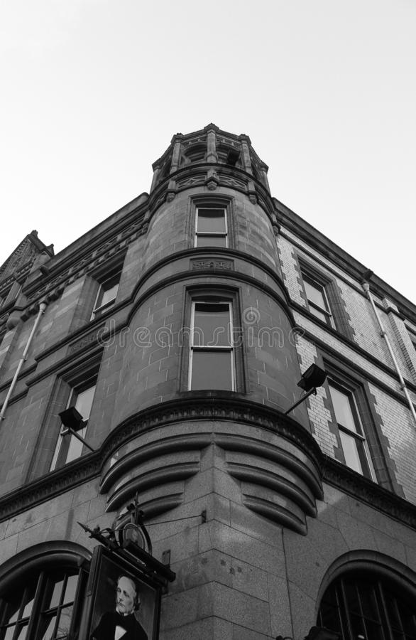 Street, Buildings, Architecture in United Kingdom. Travel in UK. royalty free stock images