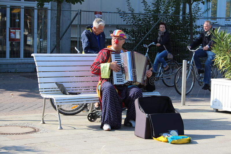Download Street busker editorial photo. Image of street, music - 27135076