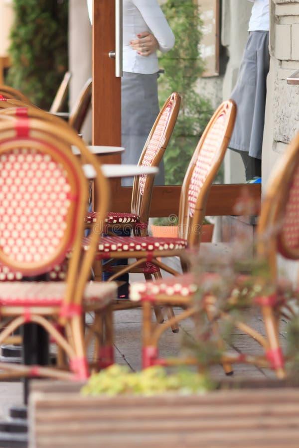 Street cafe royalty free stock photo
