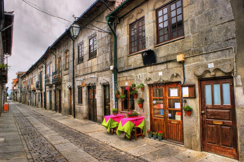 Download Street of Caminha stock image. Image of monument, caminha - 67105221