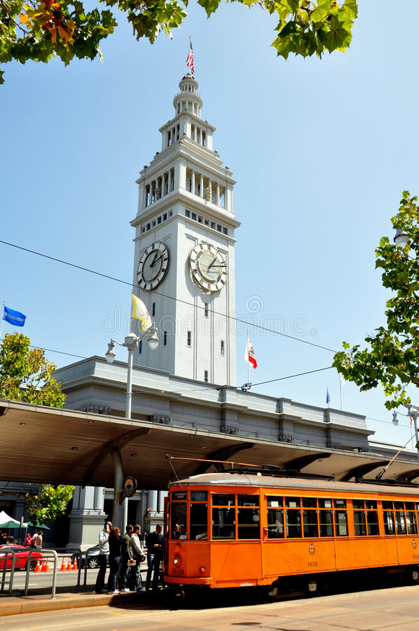 Download Street Car And Ferry Terminal Editorial Photography - Image: 18247982