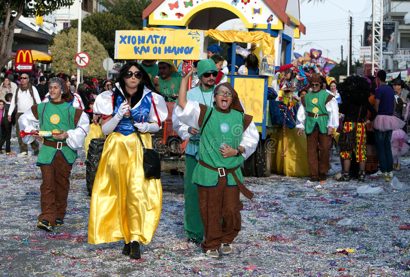 Street Carnival Parade Editorial Image