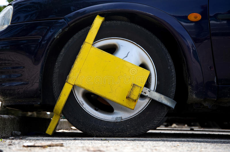 Download Street Clamp stock image. Image of enforcement, penalty - 14275905