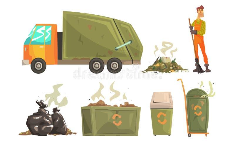 Street Cleaner Stock Illustrations – 582 Street Cleaner Stock ...