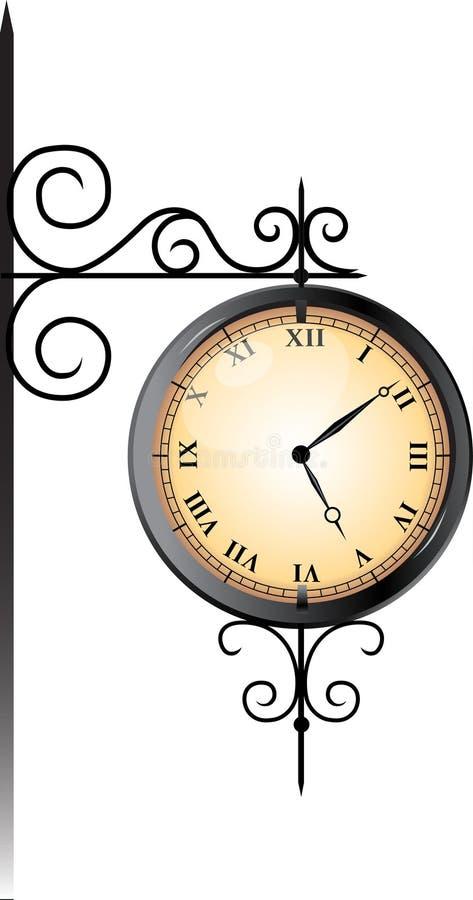 Free Street Clock Stock Photo - 22065190