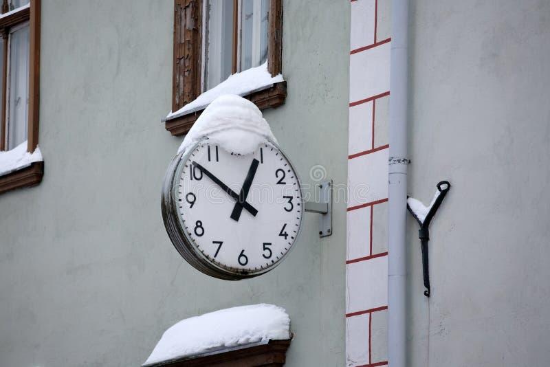Download Street clock stock photo. Image of hanging, closeup, round - 22472560