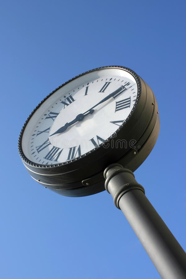 Download Street clock stock image. Image of avenue, architecture - 25427799