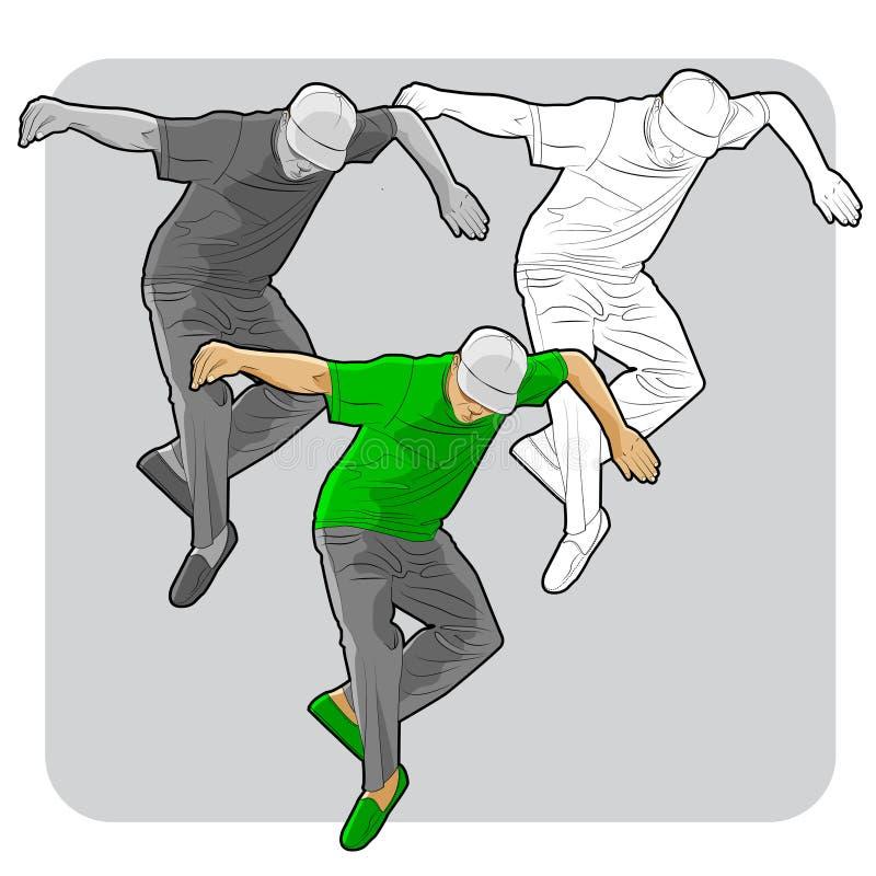 Download Street Dancer Stock Vector - Image: 83723377