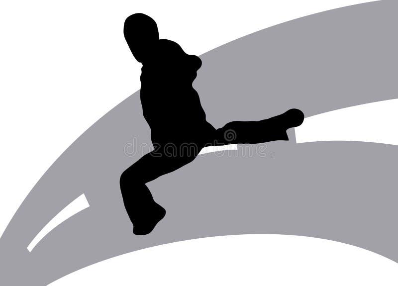 Download Street Dancing 6 stock illustration. Image of kicking - 5978295