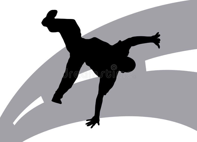 Download Street Dancing 7 stock illustration. Illustration of break - 5978293