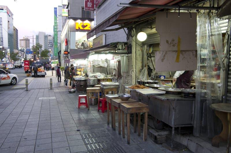 Download Street eats Busan editorial stock photo. Image of korean - 39510893