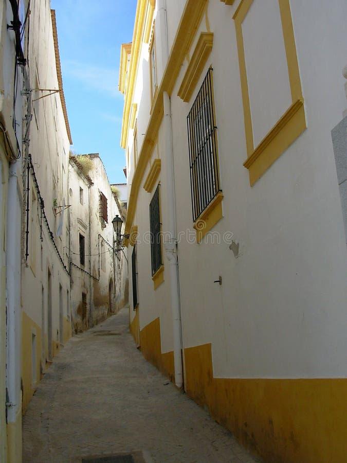 Download Street of Elvas stock image. Image of arquichecture, desert - 1016059