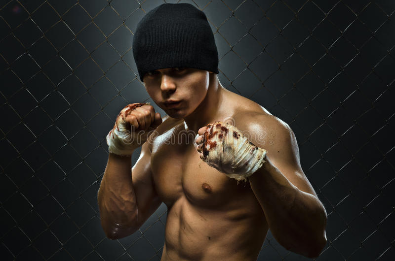 Street fighter stock photography