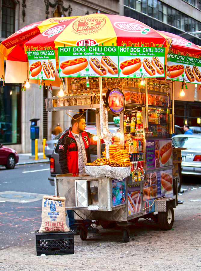 Street Food Editorial Stock Photo