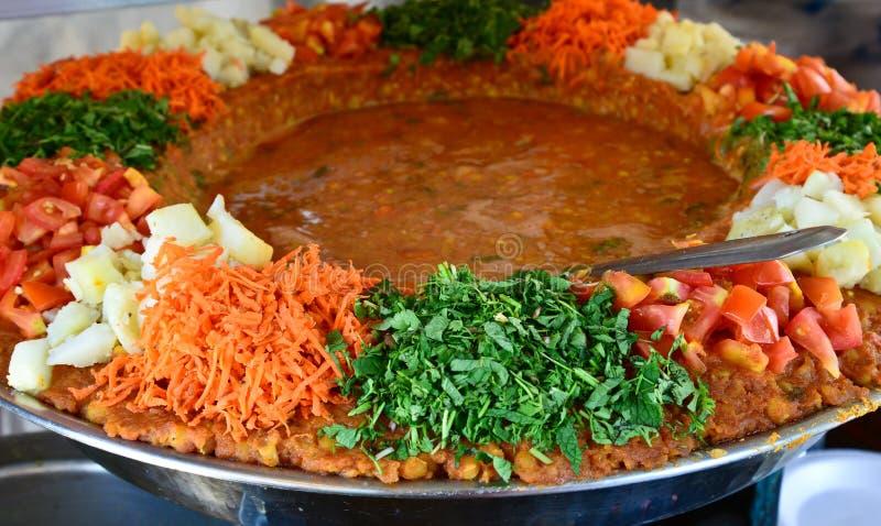 Street Food. Indian street food - Indian Curry stock photos