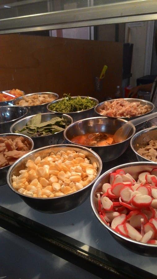 Street Food Bangsean royalty free stock images