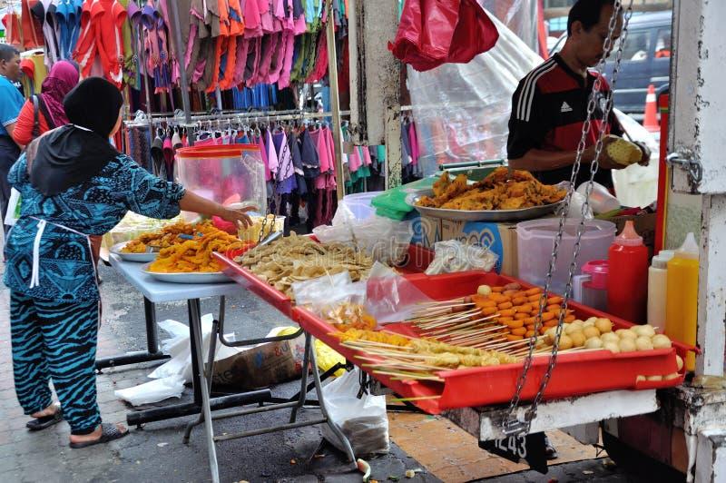 Street Food Stall in Kuala Lumpur stock image