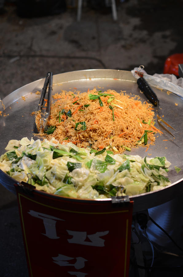 Street food in Thailand royalty free stock image