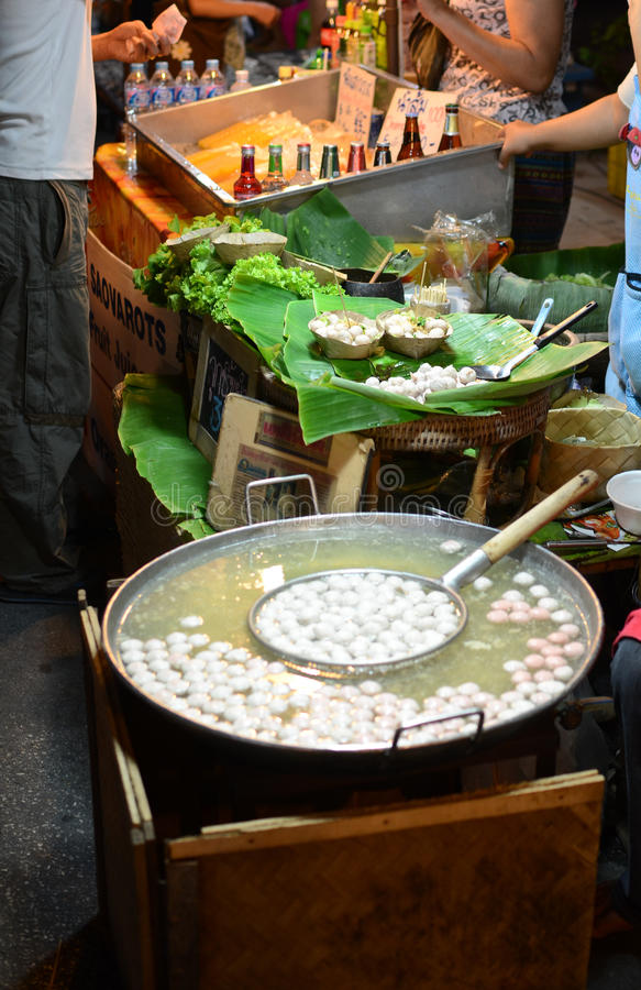 Street food in Thailand royalty free stock photos