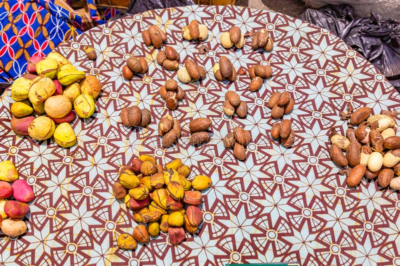 Kola nuts stock photo  Image of market, horizontal, african - 33729162
