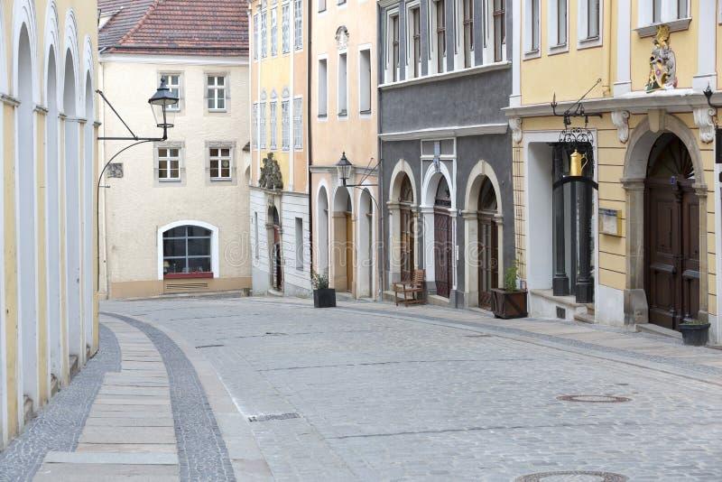 Street in Goerlitz, Germany stock photos