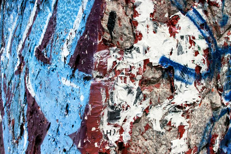 Street graffiti wall background. And texture royalty free stock photography