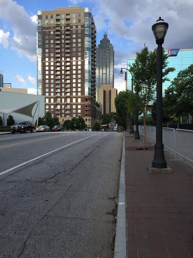 Free Street In Atlanta Royalty Free Stock Images - 78334919