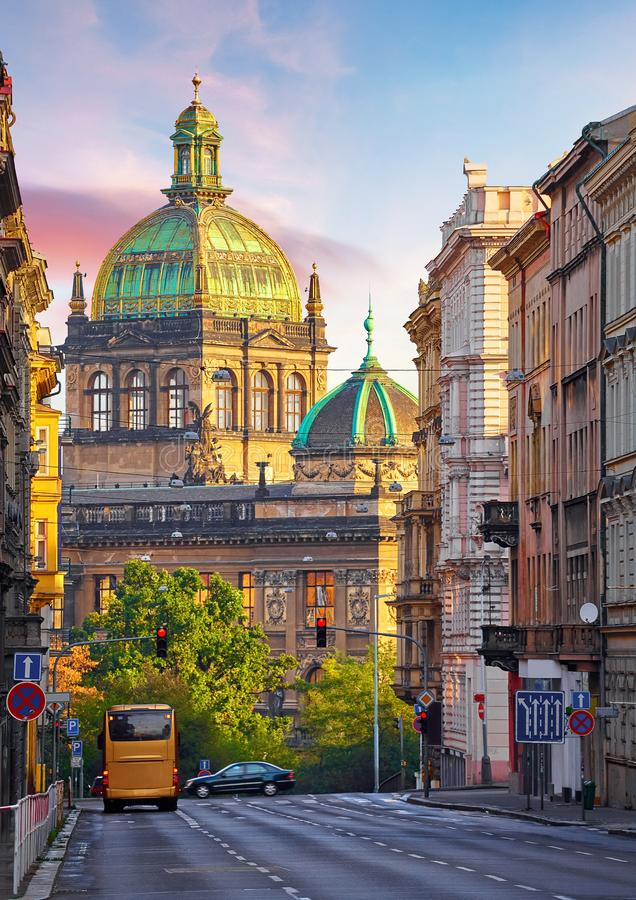 Free Street In Prague, Czech Republic. Cityscape. Stock Photography - 147409262