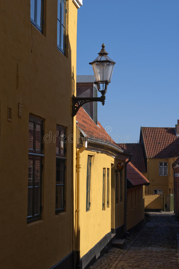 Free Street In Ribe Royalty Free Stock Images - 24085269