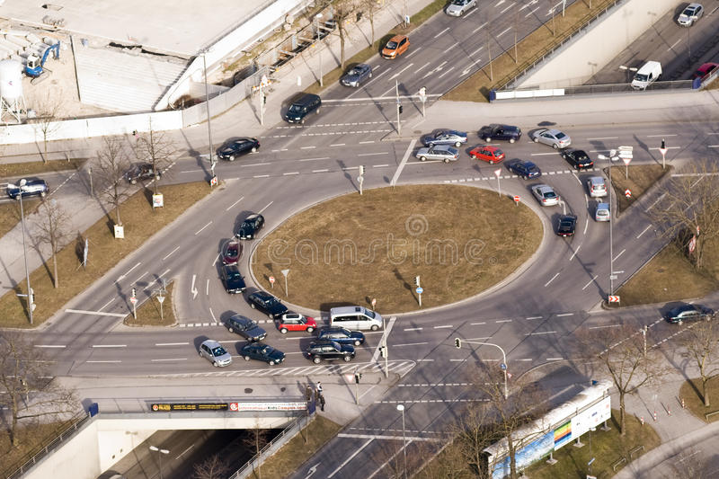 Download Street Intersection editorial image. Image of ecology - 17873675