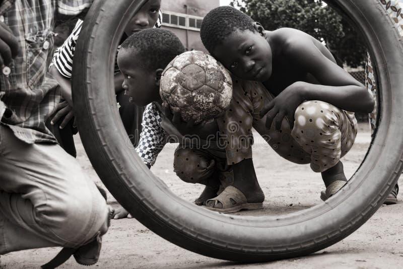 Street kids royalty free stock photos