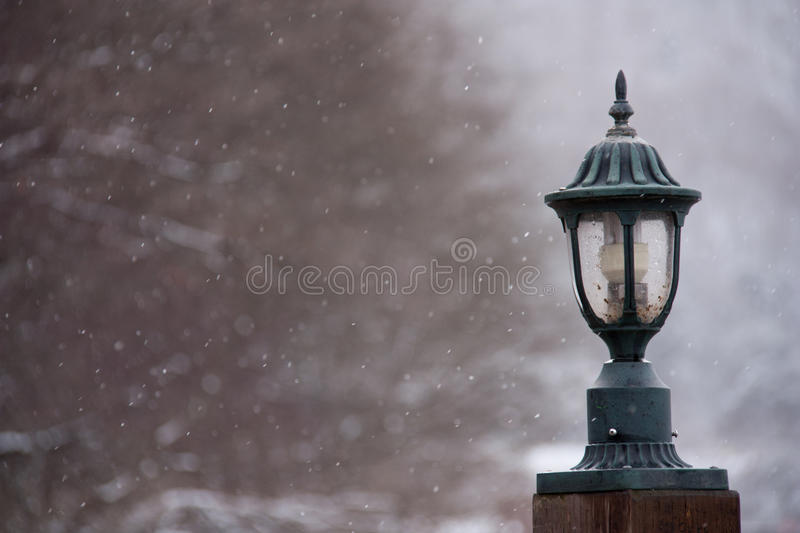 Download Street lamp stock photo. Image of snow, place, background - 26394792