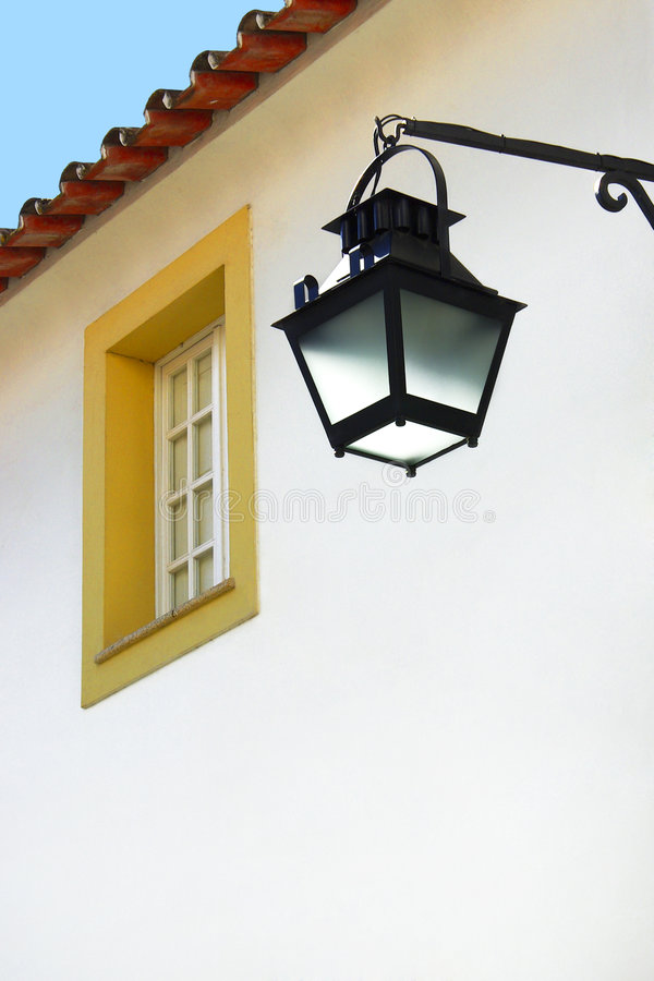 Free Street-lamp And Window Royalty Free Stock Images - 3802349