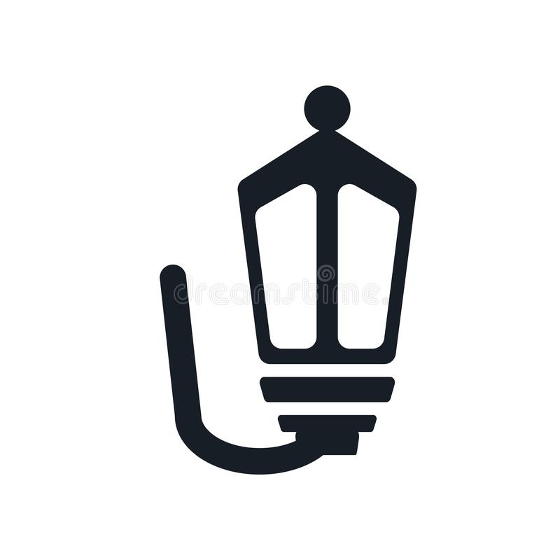 Street Lamp icon vector sign and symbol isolated on white background, Street Lamp logo concept vector illustration