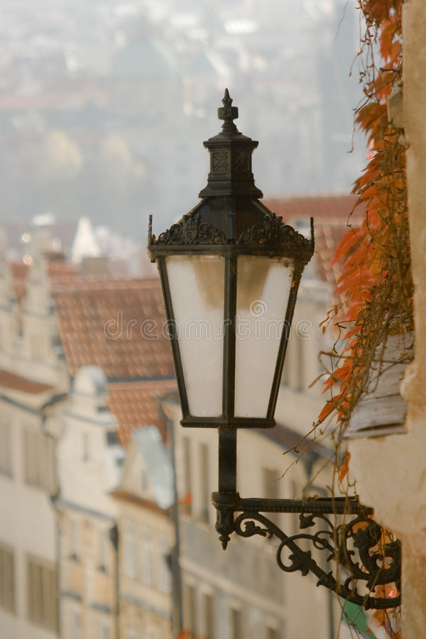 Free Street Lamp In Prague, Czech Republic Royalty Free Stock Photos - 7106098