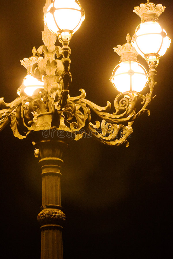 Street Lamp of Vatican