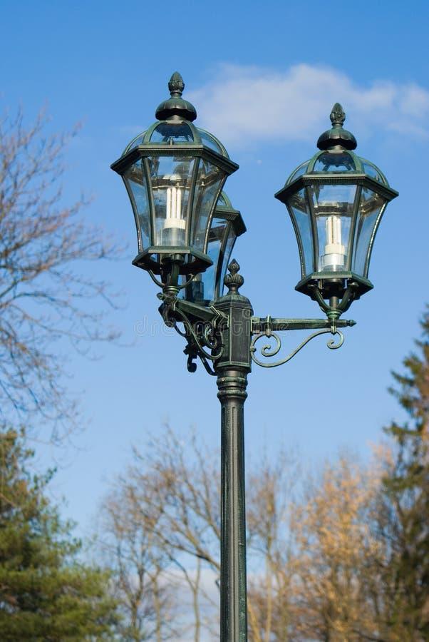 Street lamps stock photos