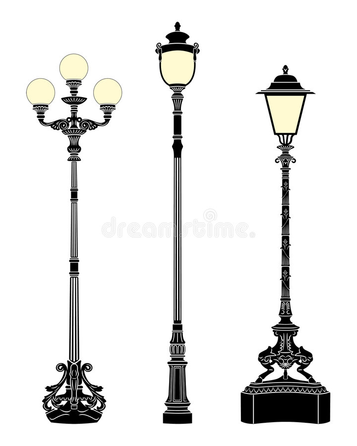 Free Street Lamps Royalty Free Stock Image - 7913046