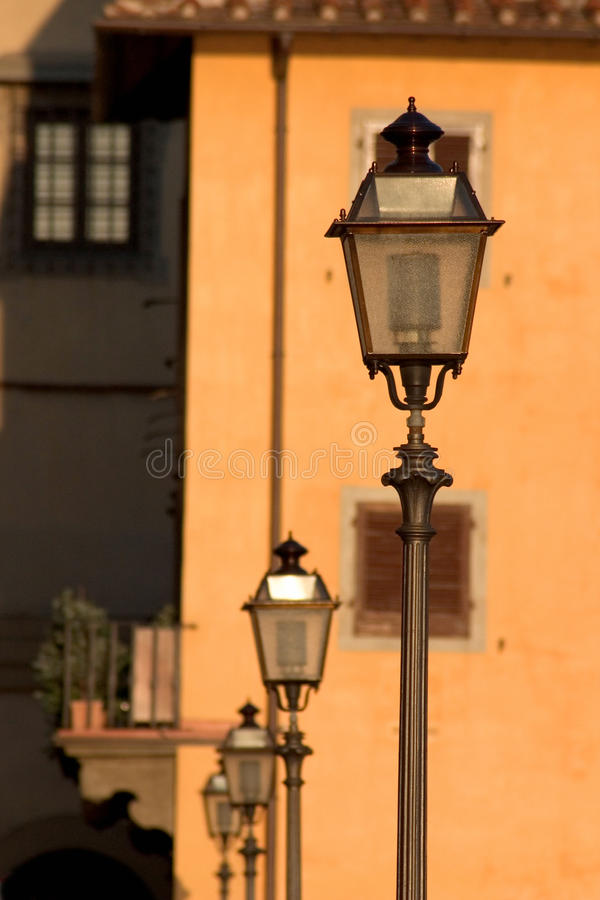 Free Street Lamps In Florence Stock Photo - 10251440