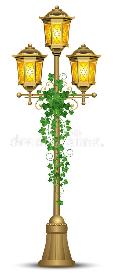 Download Street lantern stock vector. Image of backgrounds, lamp - 15738882